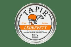 Tapir Schuh- und Lederpflege Lederfett farblos in Weißblechdose 85ml