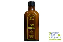 Tapir Schuh- und Lederpflege Lederpflege in Braunglasflasche 100ml