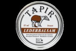 Tapir Schuh- und Lederpflege Lederbalsam braun in Weißblechdose 85ml