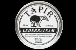 Tapir Schuh- und Lederpflege Lederbalsam schwarz in Weißblechdose 85ml