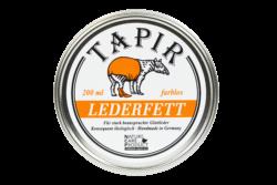 Tapir Schuh- und Lederpflege Lederfett farblos in Weißblechdose 200ml