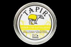 Tapir Schuh- und Lederpflege Leder- und Sattelseife in Weißblechdose 200ml