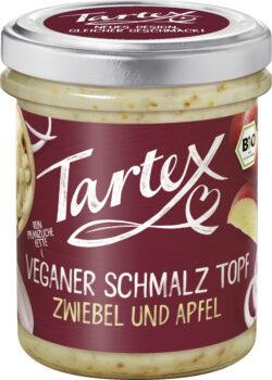 Tartex Veganer Schmalz Topf Zwiebel und Apfel 6x150g