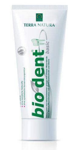 Terra Natura Biodent BasicS Basische Zahncreme 75ml