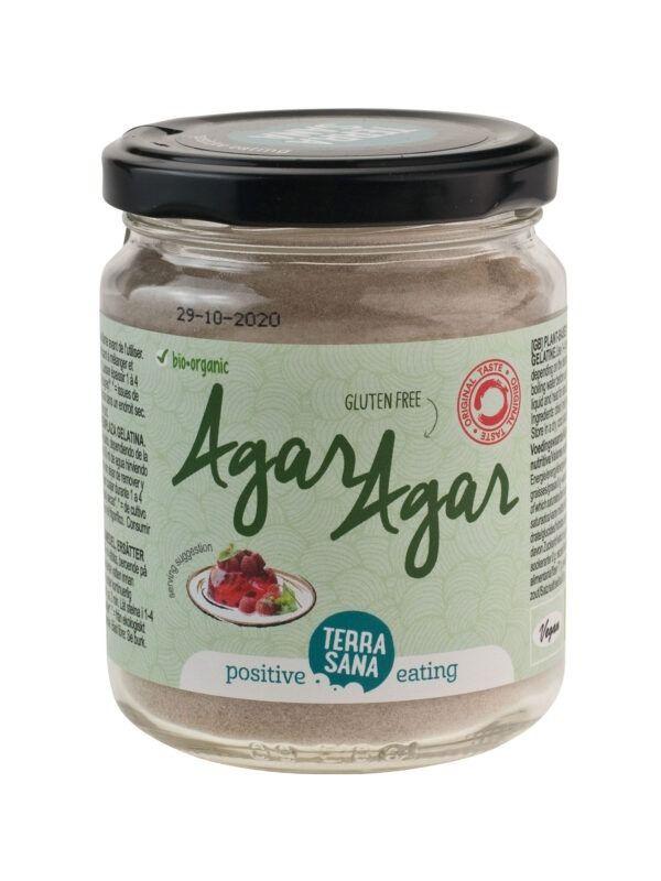 TerraSana Agar-agar (im Glas) 6x120g