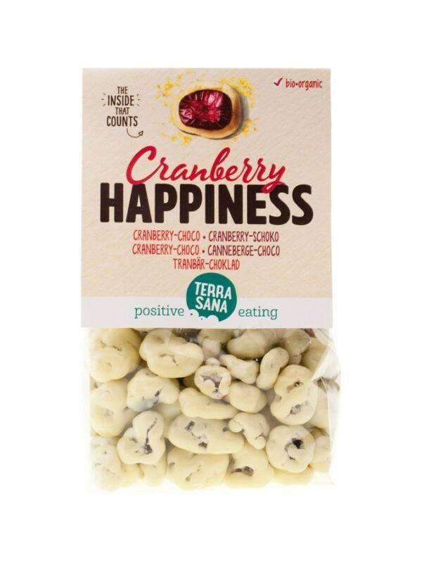TerraSana Cranberry Happiness / Cranberry-Schoko 10x150g