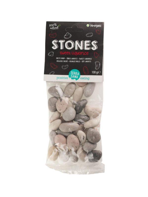 TerraSana Stones - Süßes Lakritz 20x100g