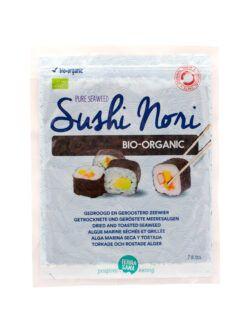 TerraSana Sushi Nori Bio geröstet (7 Blätter) 6x17g
