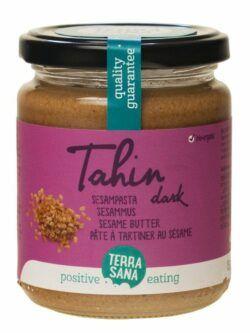 TerraSana Tahin dark - Sesammus 250g