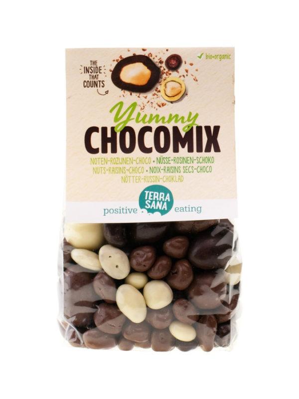 TerraSana Yummy Chocomix / Nüsse-Rosinen-Schoko 10x200g