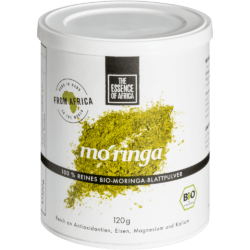The Essence of Africa Bio-Moringa Blattpulver 120g