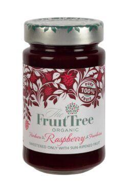 The Fruit Tree FruitTree Himbeere Bio-Fruchtaufstriche 250g. Fruchtanteil 100%. 6x250g