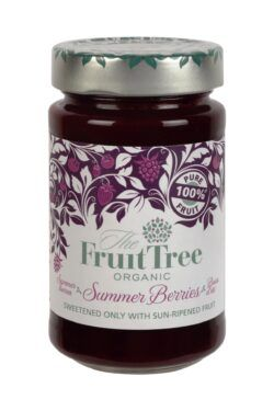 The Fruit Tree FruitTree Sommerbeeren Bio-Fruchtaufstriche 250g. Fruchtanteil 100%. 250g
