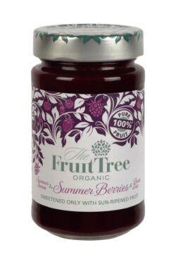 The Fruit Tree FruitTree Sommerbeeren Bio-Fruchtaufstriche 250g. Fruchtanteil 100%. 6x250g