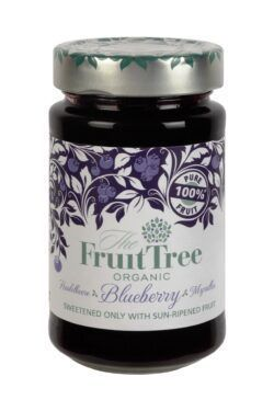 The Fruit Tree FruitTree Heidelbeere Bio-Fruchtaufstriche 250g. Fruchtanteil 100%. 6x250g