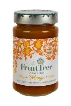 The Fruit Tree FruitTree Mango Bio-Fruchtaufstriche 250g. Fruchtanteil 100%. 6x250g