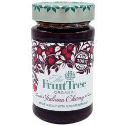 The Fruit Tree FruitTree Italienische Kirsche Bio-Fruchtaufstriche 250g. Fruchtanteil 100%. 6x250g