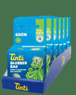 Tinti Blubber Bad grün 6x40g
