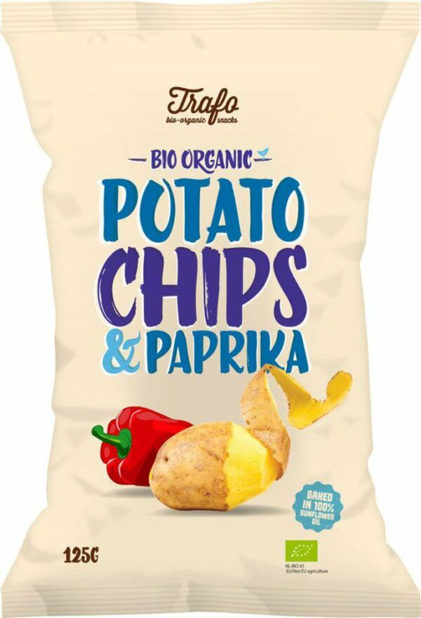 Trafo Chips paprika 12x125g