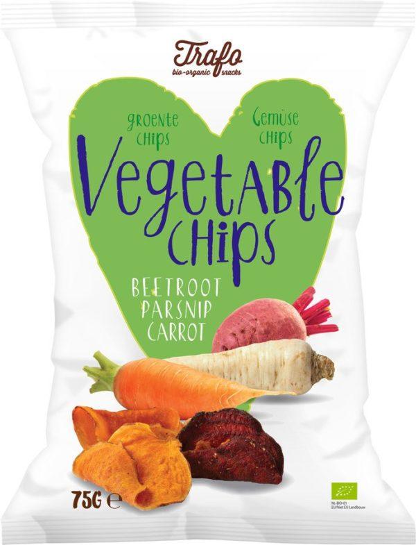 Trafo Gemüse Chips 12x75g