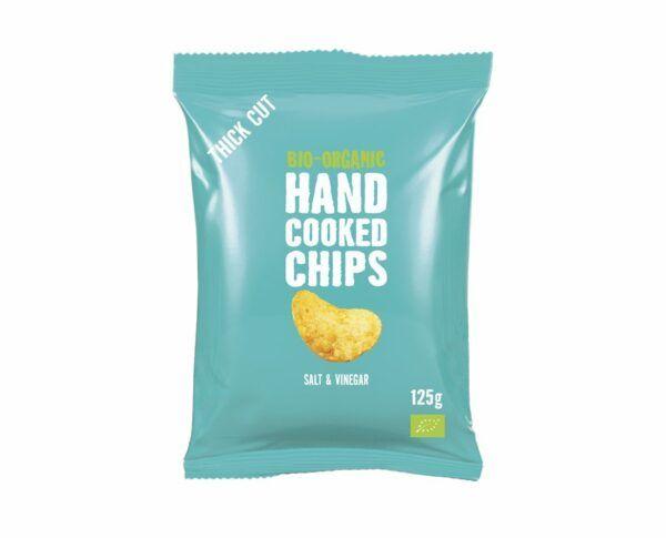 Trafo Handcooked Chips Salt & VInegar 10x125g