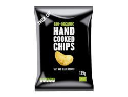 Trafo Handcooked Chips Seasalt & Black Pepper 10 x 125g