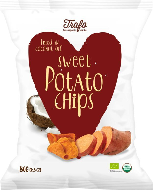 Trafo Sweet Potato Chips 6x80g