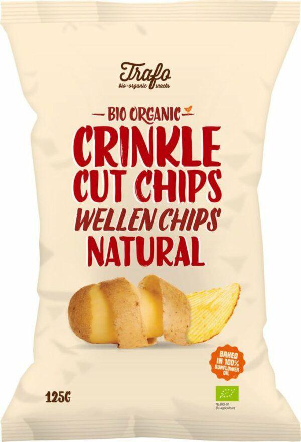 Trafo Wellen Chips gesalzen 125g