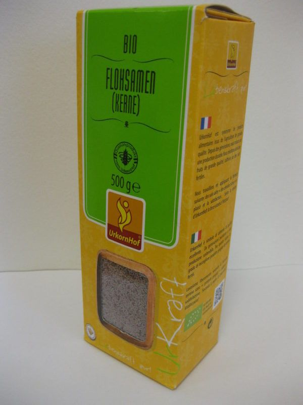 Urkornhof Bio Flohsamen (Kerne) 8x500g