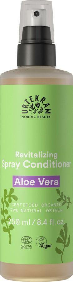 Urtekram Aloe Vera Spray Conditioner Leave In Sprüh-Pflegespülung regenerierend 250ml