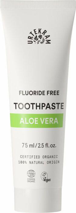 Urtekram Aloe Vera Toothpaste | Zahnpasta ohne Fluorid 75ml
