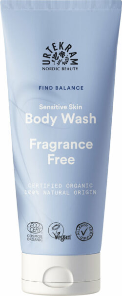 Urtekram Fragrance Free Sensitive Skin Body Wash 200ml