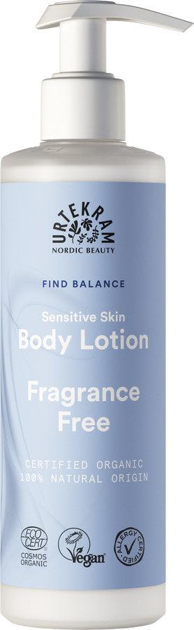 Urtekram Fragrance Free Sensitive Skin Body Lotion 245ml