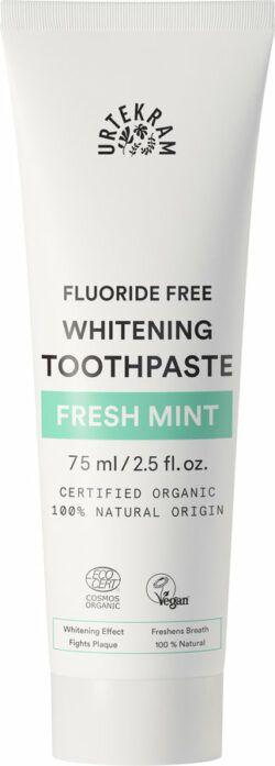 Urtekram Fresh Mint Toothpaste whitening Zahnpasta 75ml