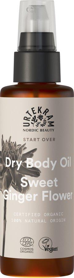 Urtekram Sweet Ginger Flower Dry Body Oil 100ml