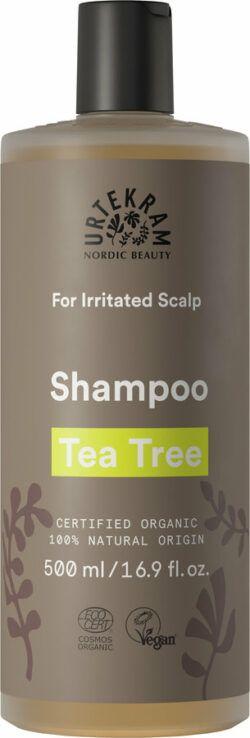 Urtekram Tea Tree Shampoo Gereizte Kopfhaut 500ml