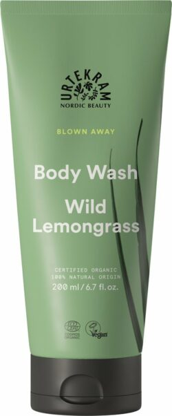 Urtekram Wild Lemongrass Body Wash 200ml