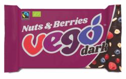 VEGO Dark Nuts & Berries, Bio/Fairtrade 12x85g