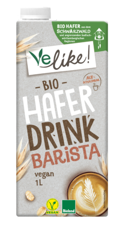 Velike! Bio H-Haferdrink Barista 12x1L PG 1l