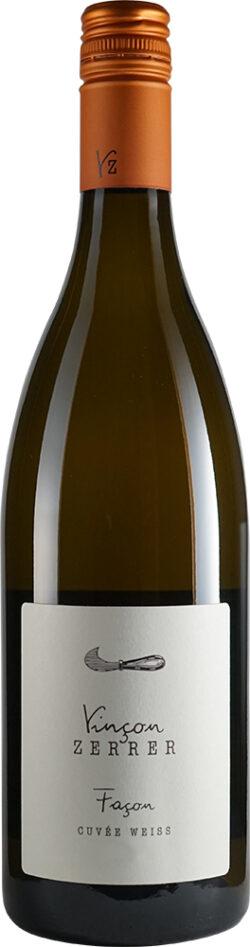 Vinçon-Zerrer Façon CUVÉE WEISS TROCKEN - Biowein, vegan, spontan vergoren - Weingut 750ml