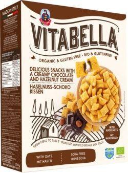 Vitabella Bio Haselnuss-Schoko Kissen glutenfrei 8x300g