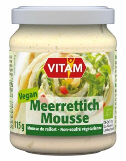 VITAM Meerrettich Mousse - vegan - 6x115g