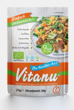 Vitanu Bio-Noodles-Art (aus Konjakmehl) 6x270g