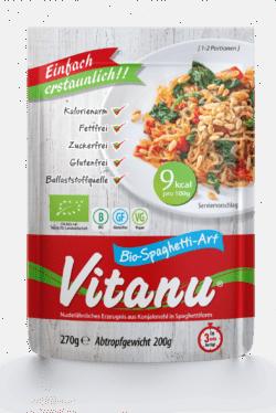 Vitanu Bio-Spaghetti-Art (aus Konjakmehl) 6x270g