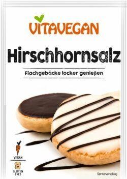 Vitavegan Hirschhornsalz, glutenfrei 20x20g