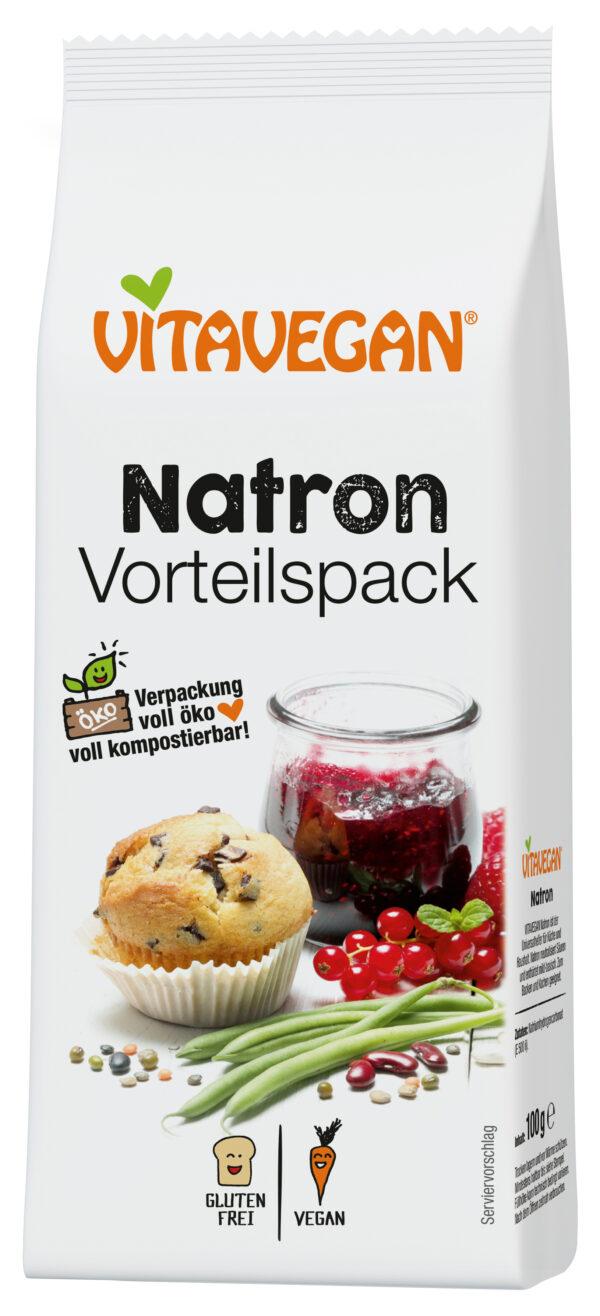 Vitavegan Natron, konventionell, Vorteilspack, 100g