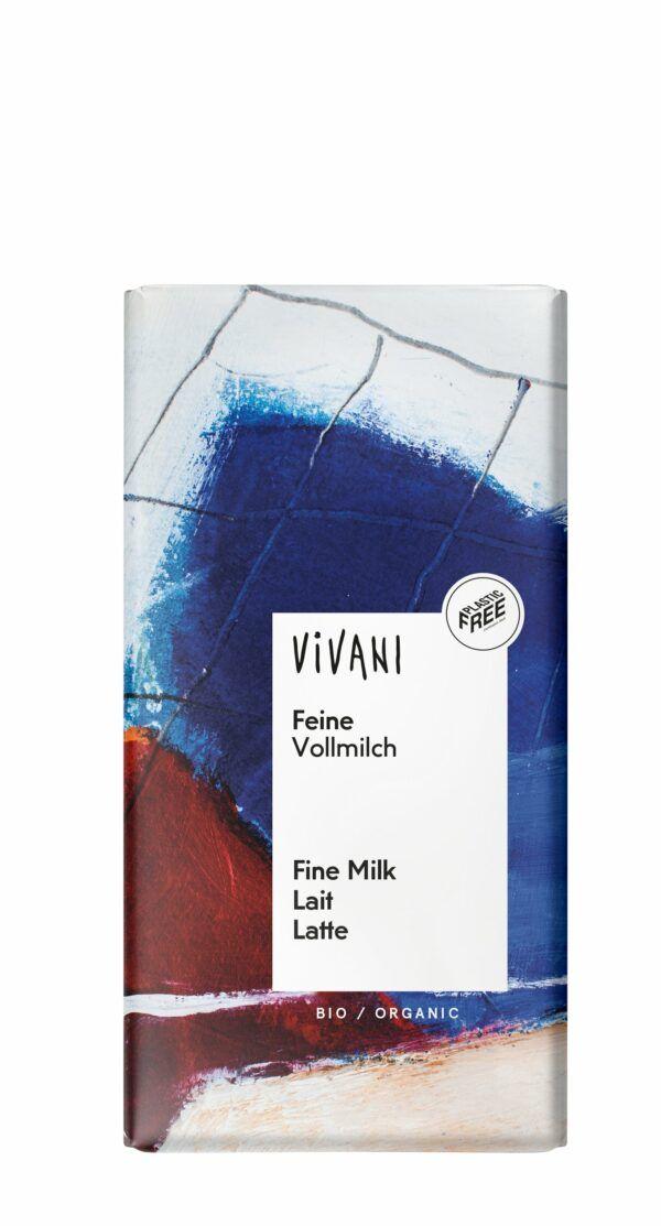 Vivani Feine Vollmilch Schokolade 10x100g