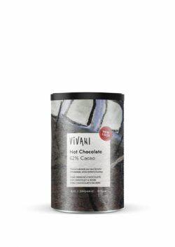 Vivani Hot Chocolate, echte Trinkschokolade 8x280g