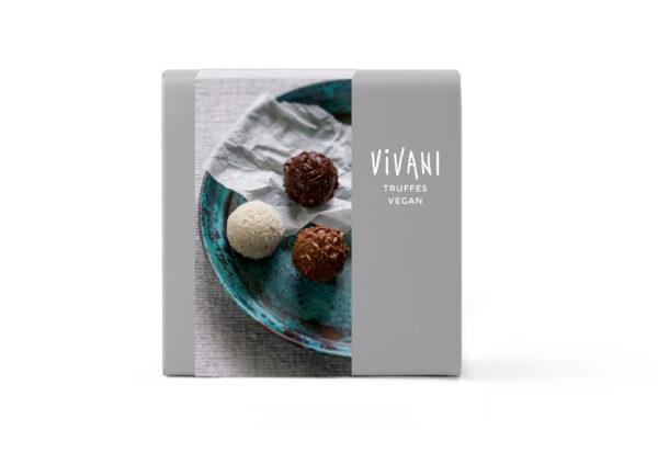 Vivani Truffes - vegane Pralinen-Mischung 3 Sorten 6x100g