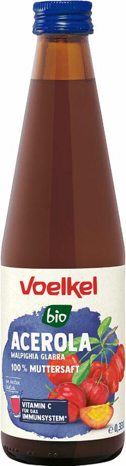 Voelkel Acerola Malpighia Glabra 100 % Muttersaft 12x0,33l